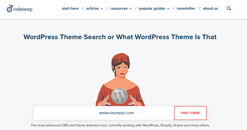 Codeinwp - Detect WordPress Theme