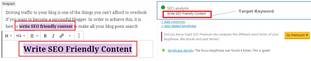 Keyword Density - Best On Page SEO Techniques