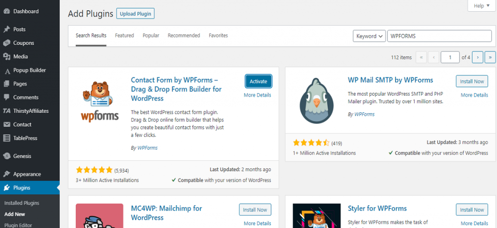 what are the Important wordpress plugins